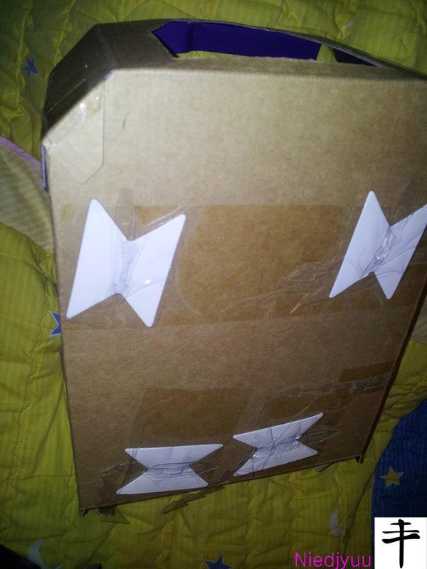 Mattel Voltron-SDCC Edition-Inbox backward