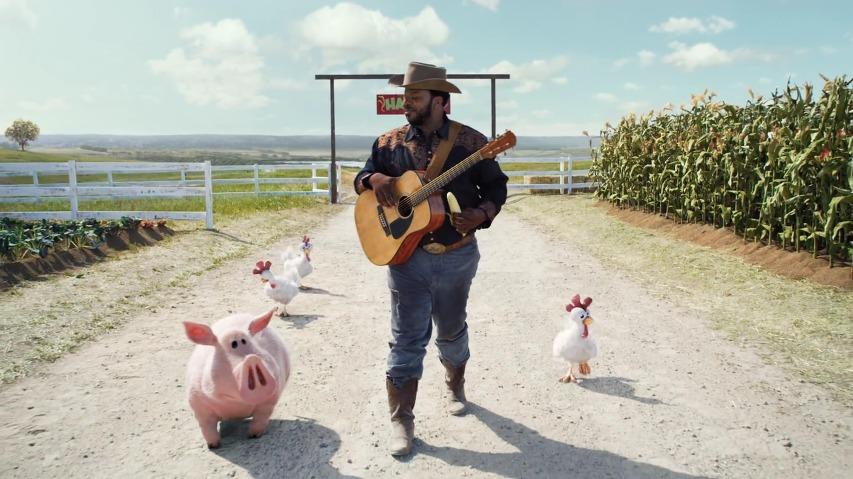 비가 오지 않아도, 농작물이 절대 죽지 않는 특별한 장소 - 헤이 데이(Hay Day) 스마트폰 게임어플 TV광고, '카우보이(Cowboy)'편 [한글자막]