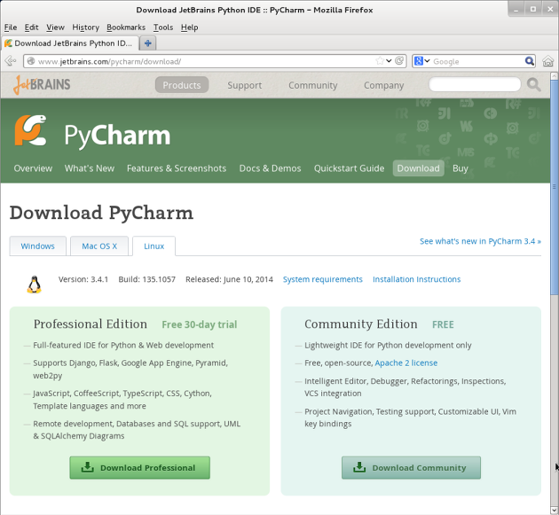 Pycharm Editor Download