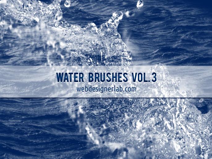 10 가지 물(water) 포토샵 브러쉬 - 10 Free Water Photoshop Brushes