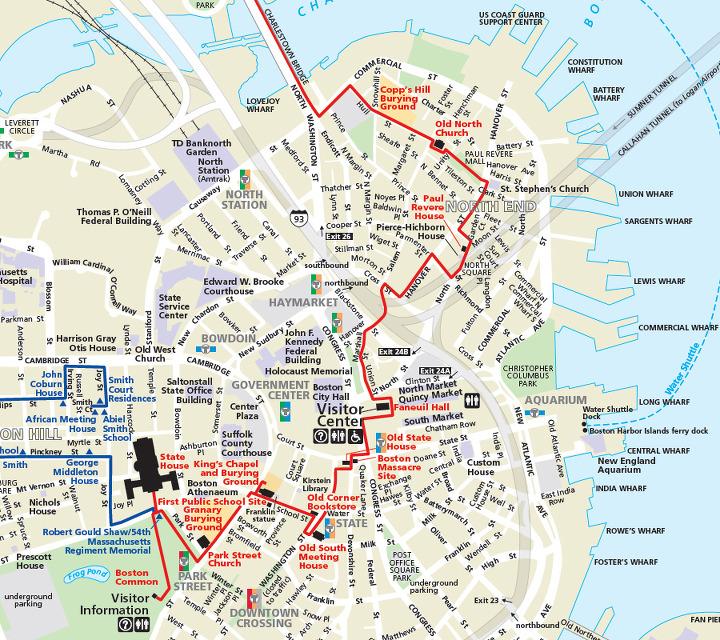 위기주부의 미국서부여행과 LA생활 :: 보스턴(Boston)의 프리덤트레일 ...