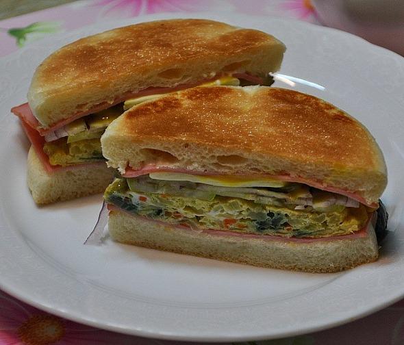 잉글리쉬 머핀 샌드위치