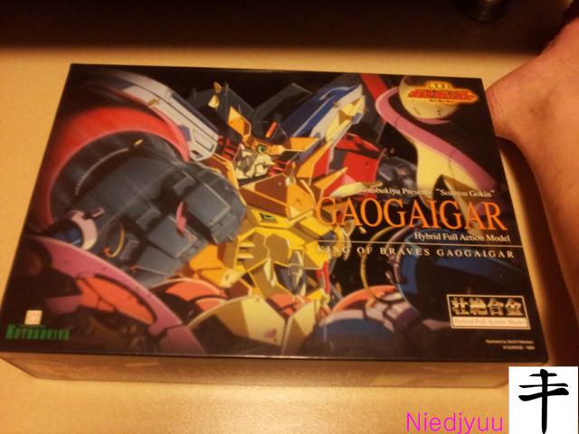Kotobukiya Gaogaigar_outbox