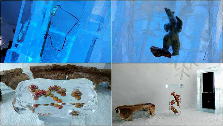 얼음 전시회 입니다