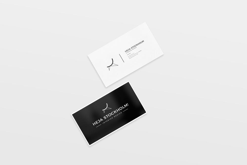 8 가지 무료 명함 목업 PSD - 8 Free Clean Business Card PSD Mockups