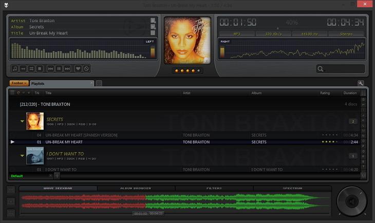 Foobar2000 Tech v1.5.2 Skin - 2