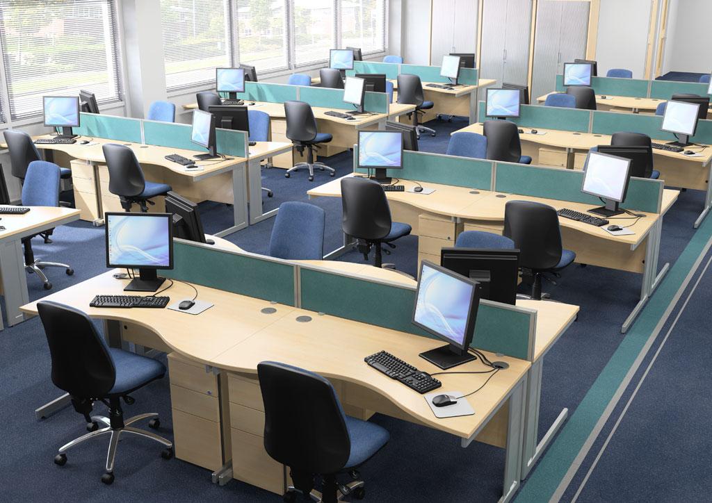 사무실에 파티션을 없애면 정말 좋을까?