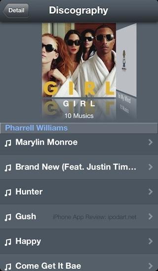 EpicLyrics 듣고 있는 노래 가사 보기 아이폰 앱