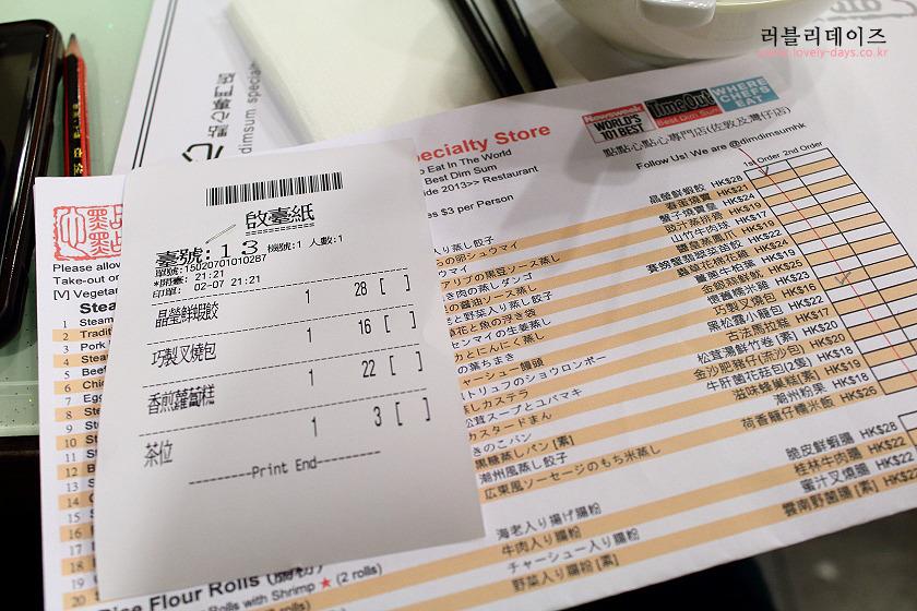 홍콩 여행, 딤딤섬 완차이점