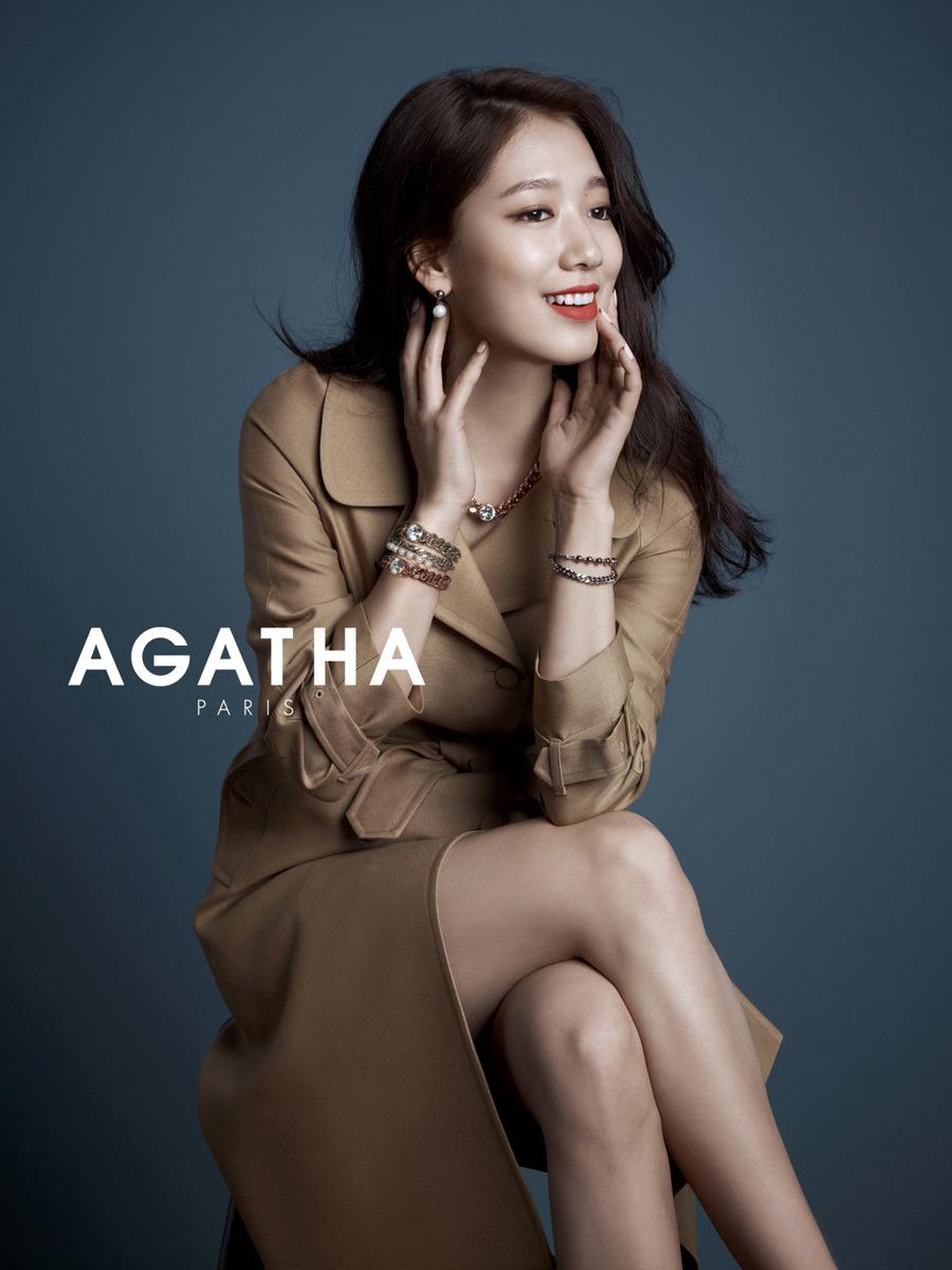 2014 AGATHA PARIS with PARK SHIN-HYE