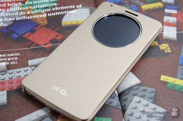 LG G3, 퀵서클케이스, 착용, 핏, 핏감, 기능