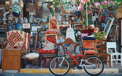 3.'시간(time)', oil on canvas, 260.6×162.2cm, 2012