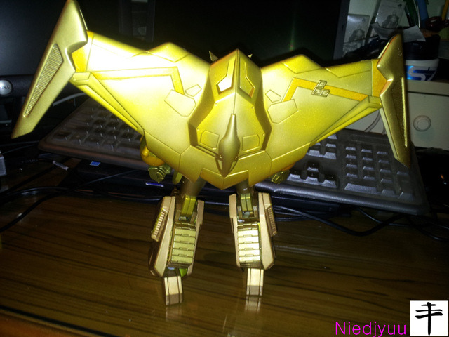 Kotobukiya Gaofighgar Gold Edition-behind-Ultech wing Operated
