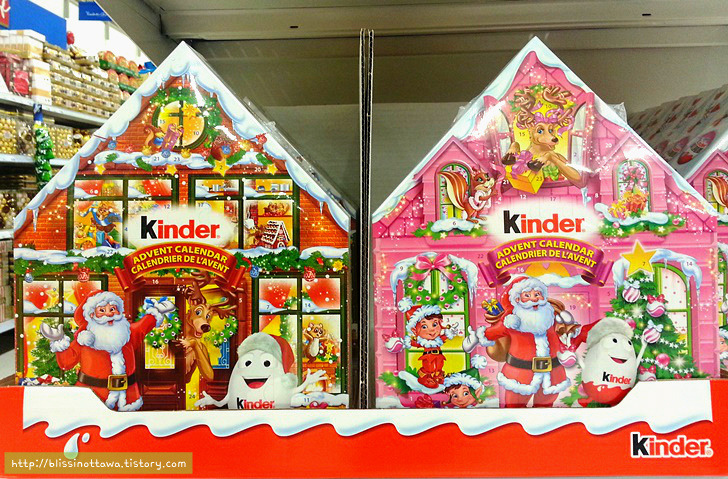 미국 캐나다 크리스마스 문화 강림절 초콜릿 달력 카운트 다운