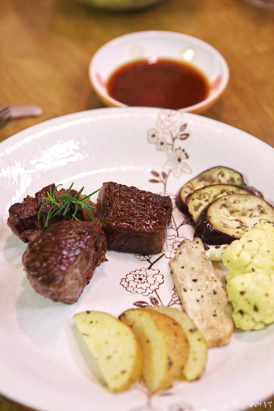 숙성 쇠고기의 참맛, 미디움 레어 스테이크 굽는법