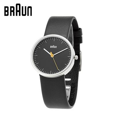 브라운 가죽밴드 시계-여성용 BNH0021BKBKL 블랙