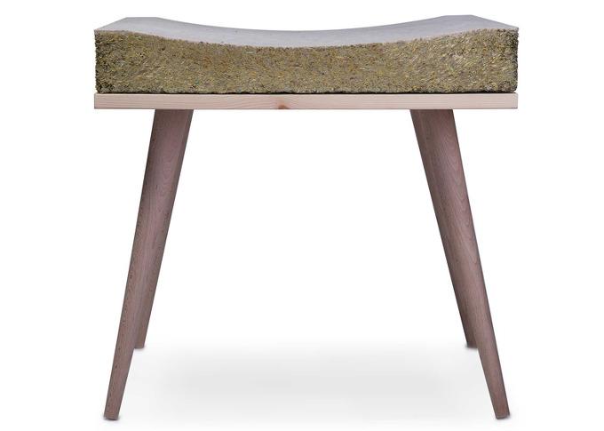 *잔디의자 Henry&Co's Chayr features a seat made from hay and grass