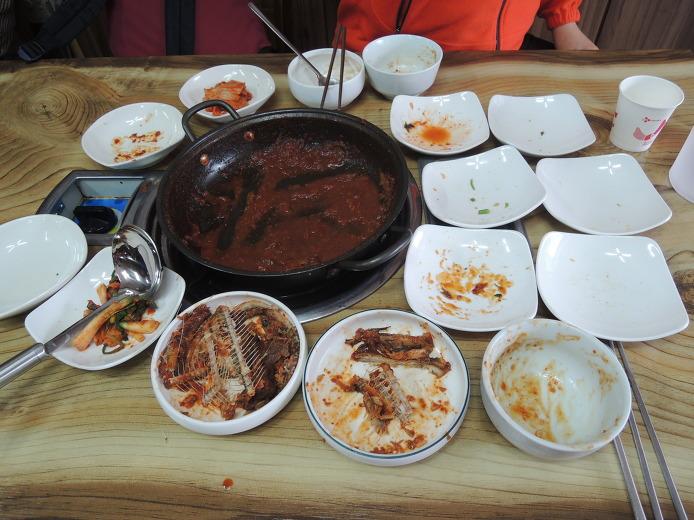 사량도 먹거리 맛집 대가식당