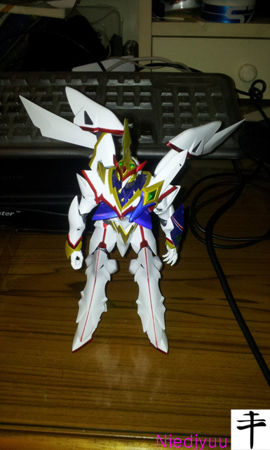 Megahouse Kaiser fire-Back wing span