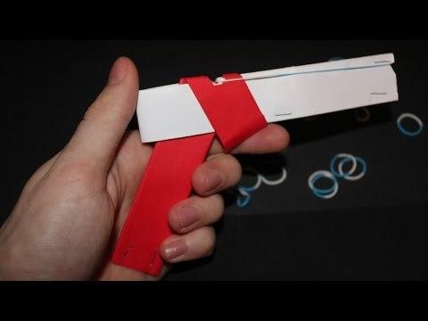 진짜 쏠 수 있는 간단 총 장난감 만들기 동영상