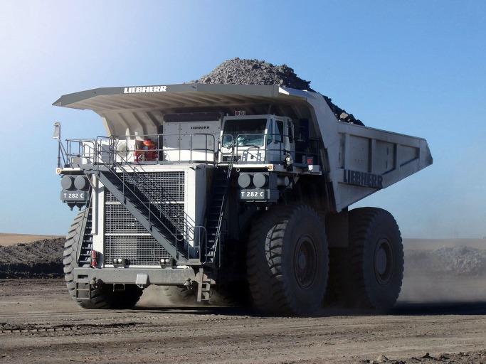 세계에서 가장 거대한 덤프트럭 - 립헬 T282 6