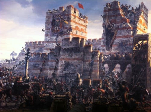 비잔틴제국 최후의 전투