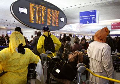 정시 이륙율 최악 6위 공항 : 프랑스 파리의 샤를르드골(CDG)공항