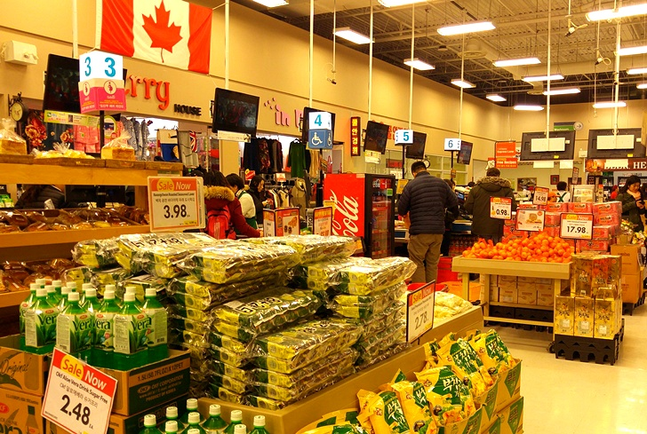 캐나다 토론토 한국 식품점