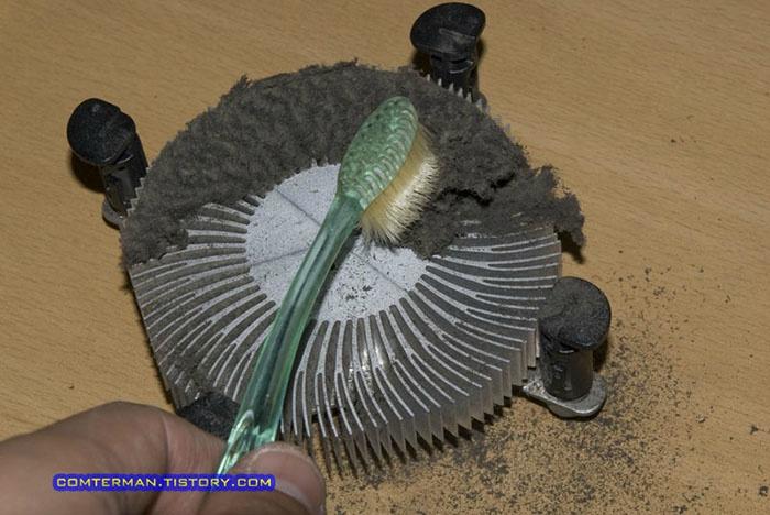 냉장고 응축기 코일 먼지 청소 전기절약 에너지 절약 Refrigerator condensor dust