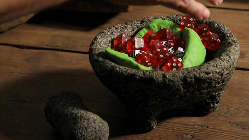 단편 스톱모션 애니메이션 영상, 신선한 과카몰리(Fresh Guacamole)