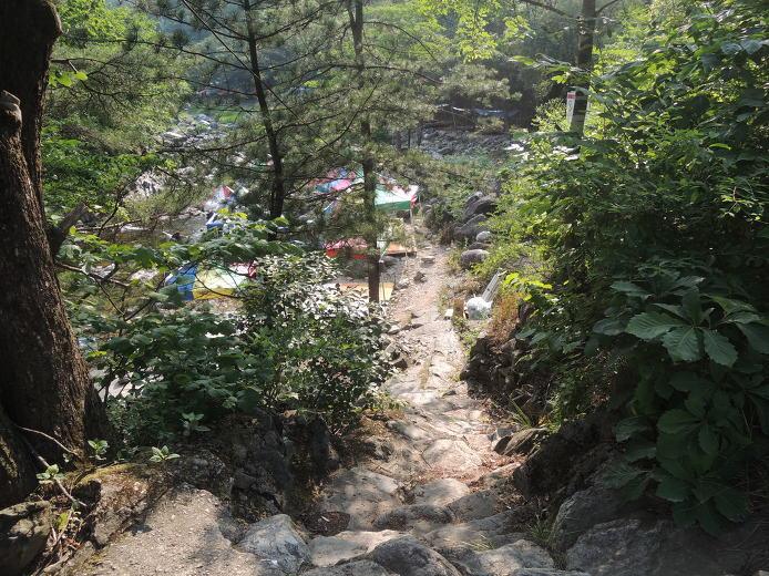 경기도 가평 여름피서지 용추구곡