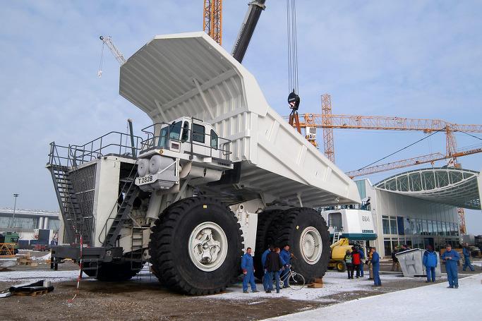 세계에서 가장 거대한 덤프트럭 - 립헬 T282 3