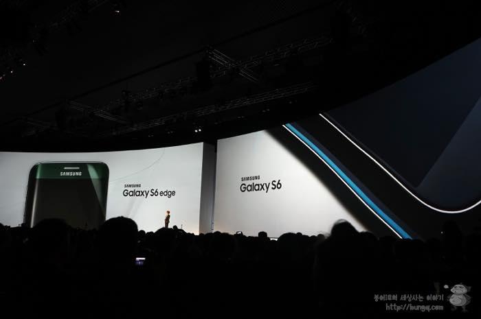 충분한 매력으로 무장한 갤럭시s6, 갤럭시 s6 엣지 - 삼성 언팩 2015 참관기