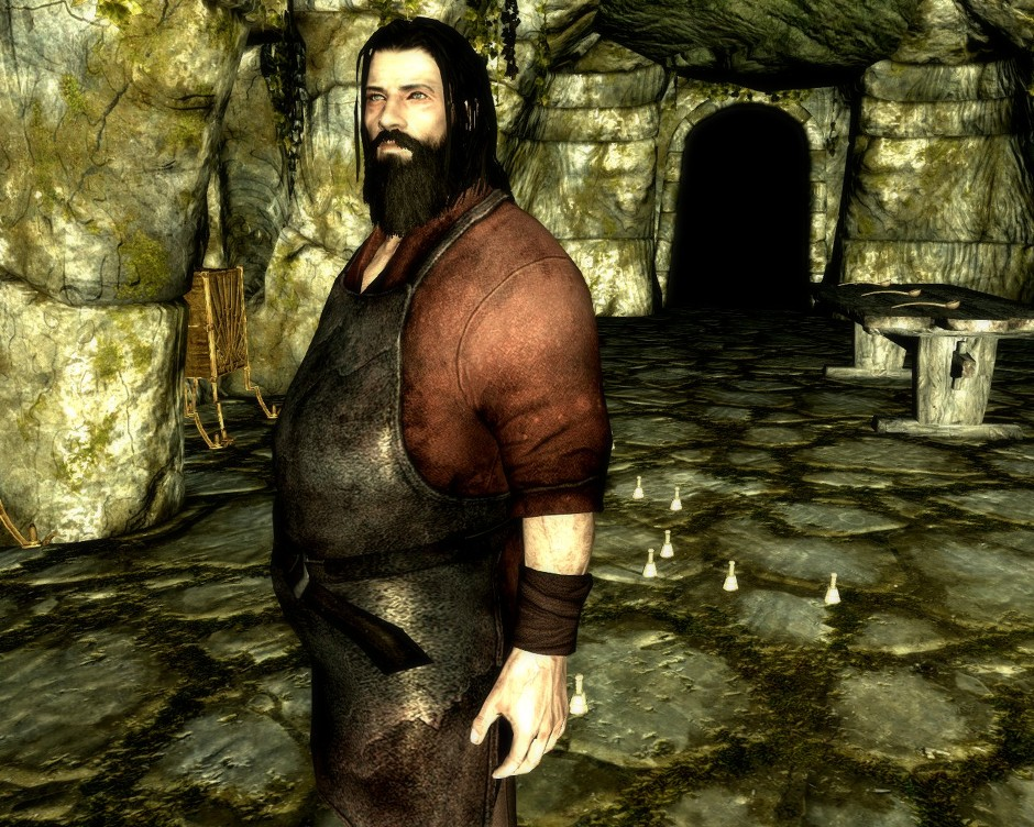 skyrim how to change npc weight
