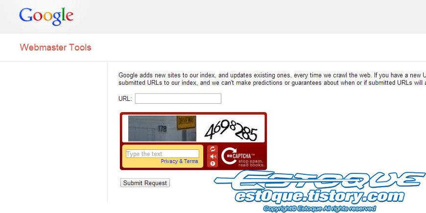 구글 웹마스터 도구