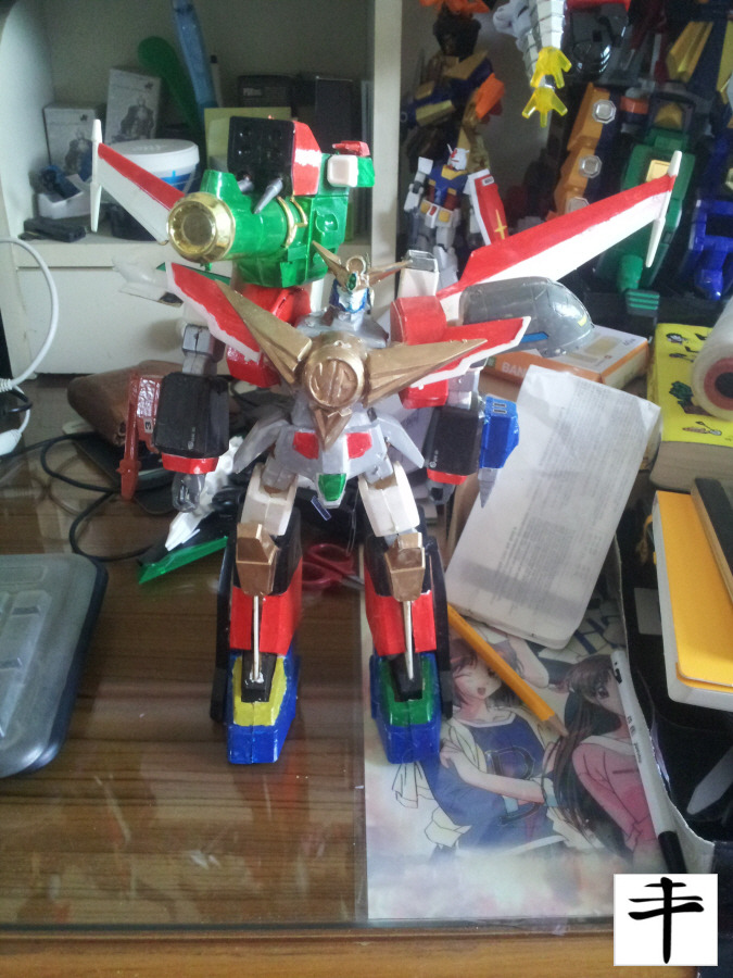 Great Mightgaine Perfect Mode_Fujimi_front_Without Sword