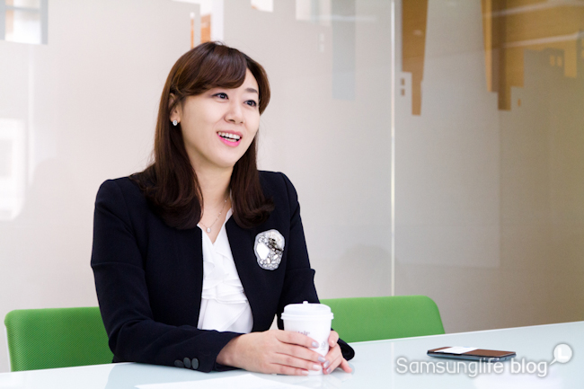 '행복'해지는 긍정의 습관, 삼성생명 위드파트너 CS 강사 김윤희 팀장