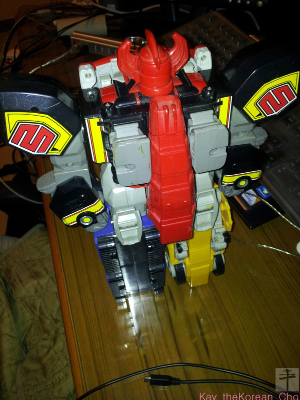 Mighty Morphin Power Ranger - DX Megazord-back
