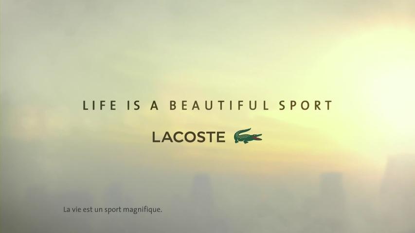 라코스테(Lacoste)의 사랑을 고백하기까지의 수많은 갈등과 도전을 아름다운 영상으로 풀어낸 TV광고 - '커다란 도약(The Big Leap)'편 [한글자막]