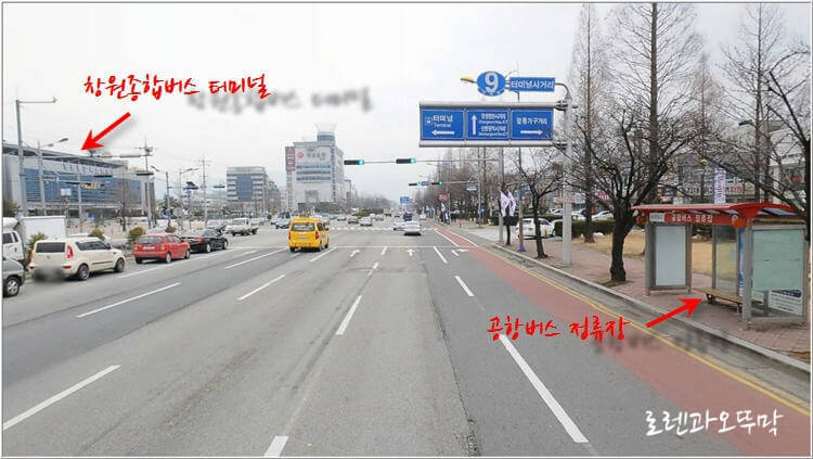 창원터미널에서 김해공항 리무진 타는 곳,시간표1