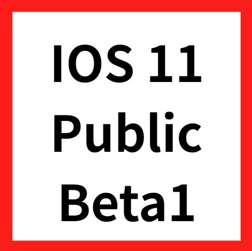 ios11 public beta1