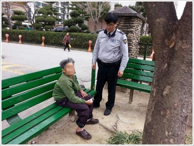 <사진=사천지구대 제공>