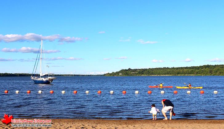 캐나다 오타와 비치 피트리 아일랜드 Petrie Island