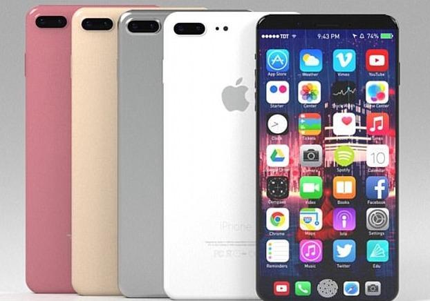 아이폰8 추정 이미지.