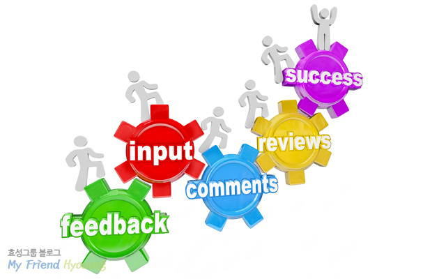 feedback input, comments, reviews, success