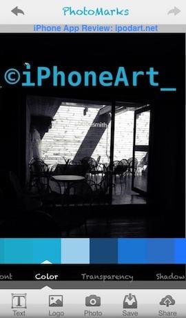 PhotoMarks 아이폰 사진 워터마크