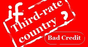 Third-rate country 3류국가