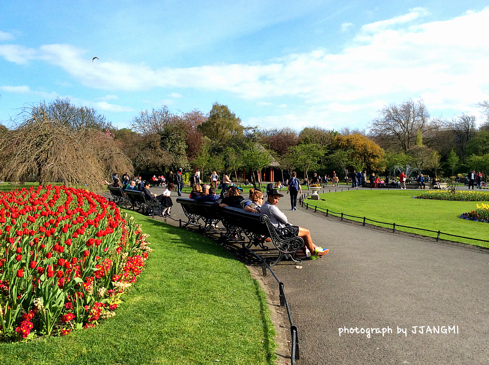 스티븐스 그린 공원(St.Stephen's Green Park)