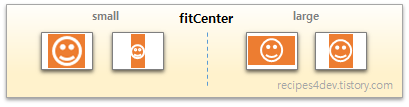 scaleType fitCenter