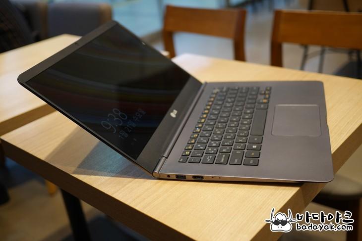 LG 그램14 인텔 5세대 브로드웰 940g 14인치 노트북 직접 보니